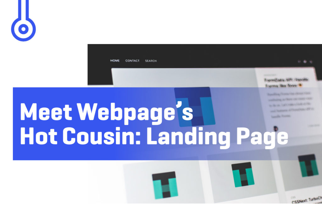 Blog-Meet Webpage's Hot Cousin- Landing Page